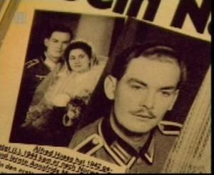El papá de Anni-Frid, el sargento alemán Alfred Hasse
